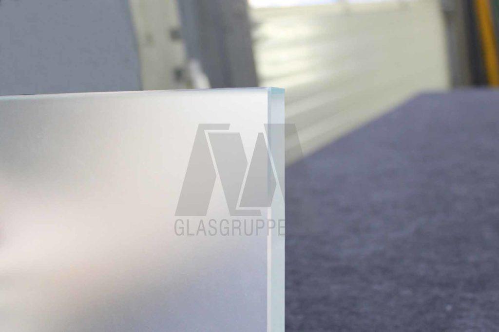 Glas Mayer Satiniertes Glas